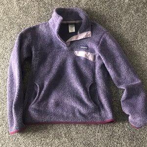 Patagonia retool pullover medium lavender/purple